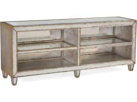 John Richard Eglomise Shelved 78 x 17 Rectangular Sofa Table