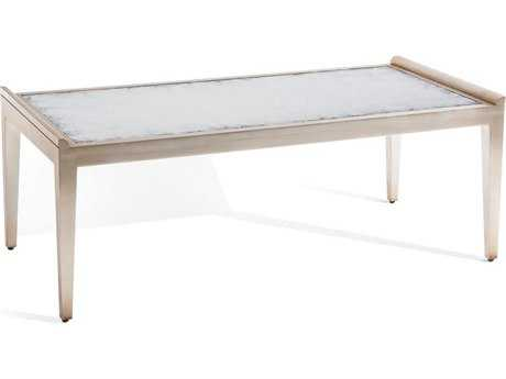 John Richard Art Deco Pewter 54'' x 26'' Console Table