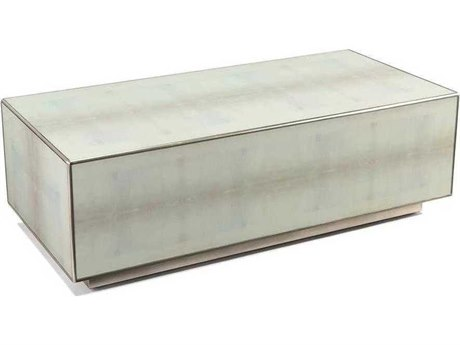 John Richard Dune Silver 56'' x 26'' Rectangular Cocktail Table