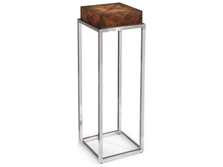 John Richard Mark McDowell Walnut 11.75'' Short Square Pedestal