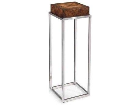 John Richard Mark McDowell Walnut 11.75'' Short Square Pedestal