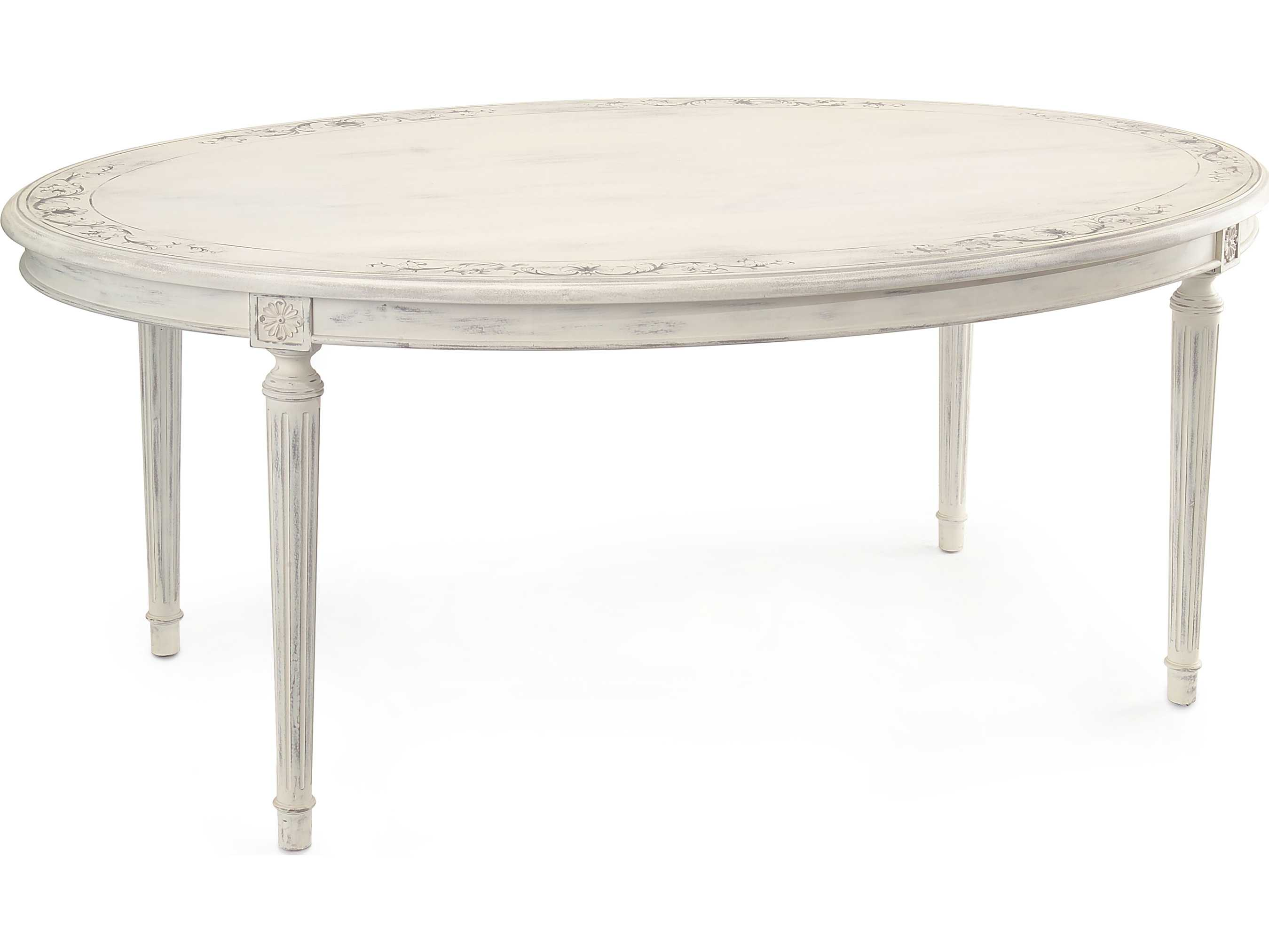 John Richard Talleyrand 72 X 46 Oval Casual Dining Table