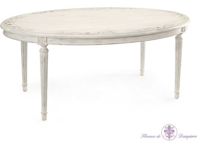 John Richard Talleyrand 72 X 46 Oval Casual Dining Table Dining Tables