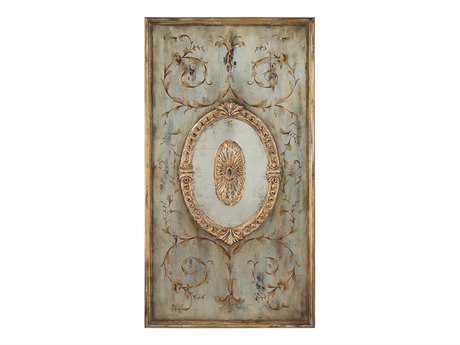 John Richard Eye Candy Panel With Mirror I Painting