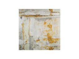 John Richard Walsh's Large White Gold Painting