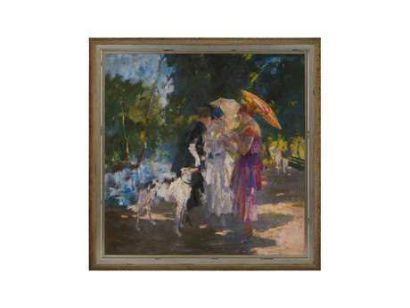 John Richard Zambeletti's Gardens In May Painting