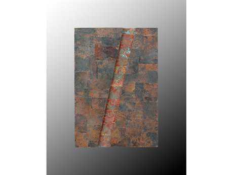 John Richard 1 Diagonal Copper Wall Art