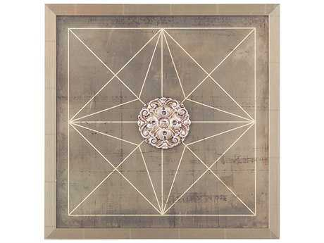 John Richard Geometric Blueprint I Painting