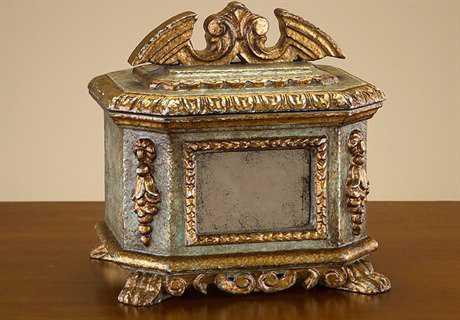 John Richard Hand Carved Venetian Box