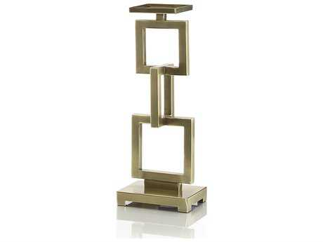 John Richard Small Candle Stand with Linked Rectangles