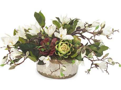 John Richard Magnolia Centerpiece Floral Arrangement