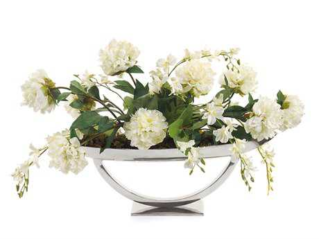 John Richard Bright White Floral Arrangement
