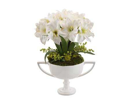 John Richard Fleur De Amaryllis Floral Arrangement in Vase