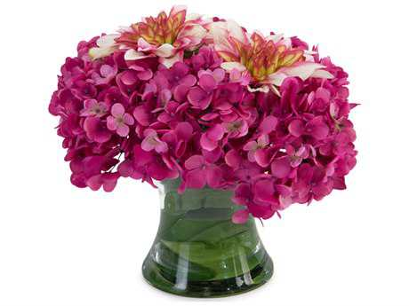 John Richard Dahlia & Hydrangea Floral Arrangement
