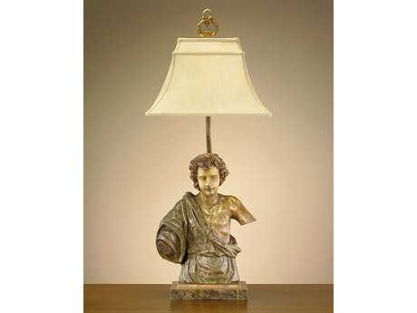 John Richard Hand-Finished Broken Angel Composition French Beige Table Lamp
