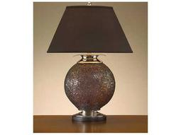 John Richard Table Lamps Copper Fragmented Large Glass Table Lamp