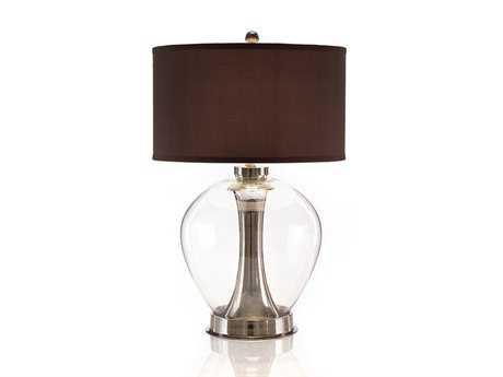 John Richard Dome Collection II Charcoal Table Lamp
