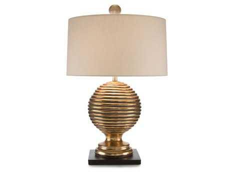John Richard Golden Rings Gold Table Lamp