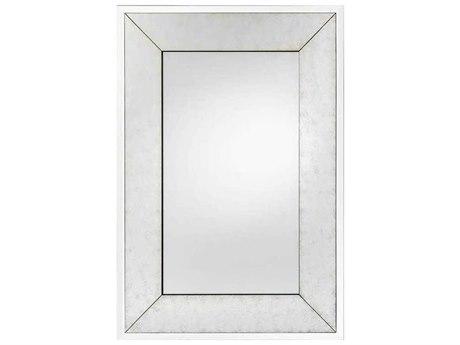John Richard Xylo Gold Eglomise 47'' x 68'' Rectangular Wall Mirror