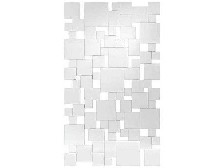 John Richard Cobbles 78'' x 47'' Rectangular Wall Mirror