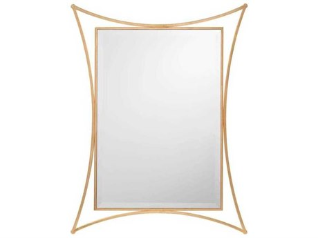 John Richard Moto Gold 36'' x 47.5'' Wall Mirror