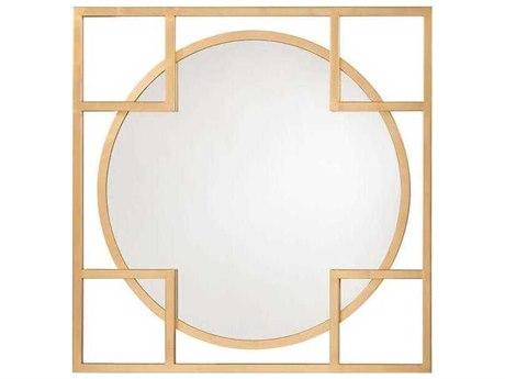 John Richard Alto Mirror Gold 47'' Square Wall Mirror