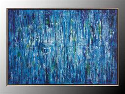 John Richard Jinlu Blue Painting