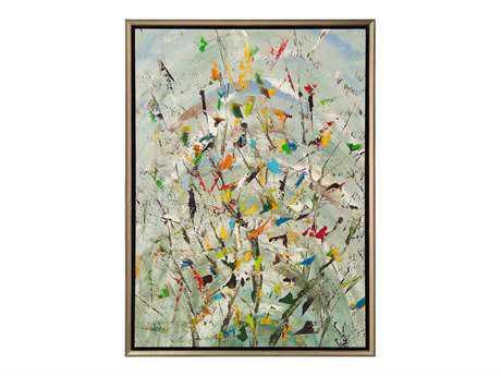 John Richard Jinlu The Confetti Garden Painting