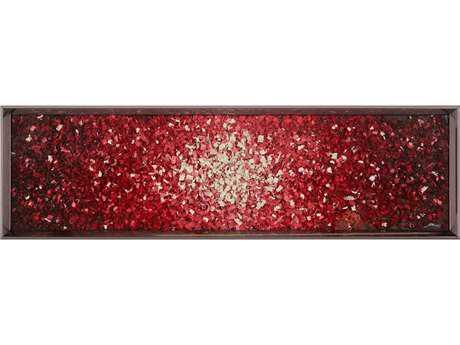 John Richard Ruanwei's Level Red Wood Wall Art