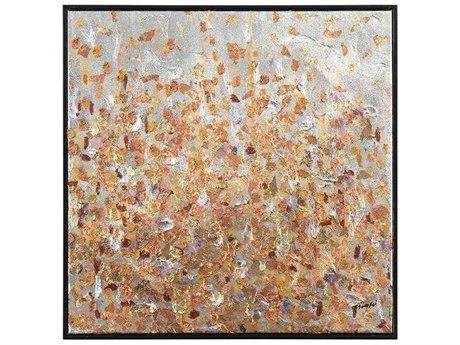 John Richard Teng Fei's Gilded Garden IV Painting