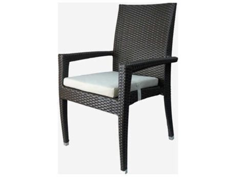 Feruci Venice Wicker Dining Arm Chair