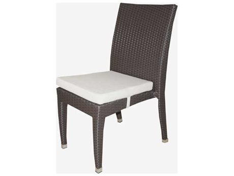 Feruci Venice Wicker Dining Side Chair