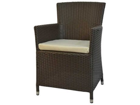 Feruci Resto Wicker Dining Arm Chair PatioLiving