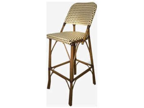 Feruci Cafe Teak Paris Barstool PatioLiving