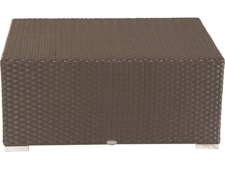 Feruci Fidji Wicker 47W x 28D Rectangular Coffee Table