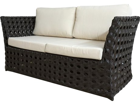 Feruci Open Wicker Loveseat