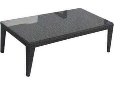 Feruci Sobe Deluxe Wicker 47W x 24D Rectangular Coffee Table PatioLiving