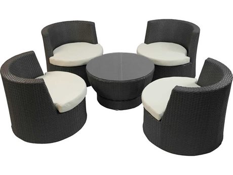 Feruci Tower Wicker Lounge Set
