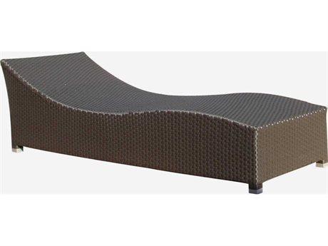 Feruci Bora Wicker Chaise Lounge