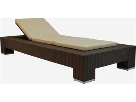 Feruci Venice Wicker Chaise Lounge PatioLiving