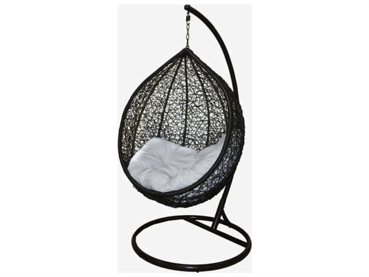 Feruci Wicker Egg Chair with Stand