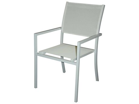 Feruci Aruba Aluminum Dining Arm Chair PatioLiving