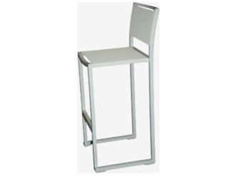 Feruci Aruba Aluminum Bar Stool with Backrest