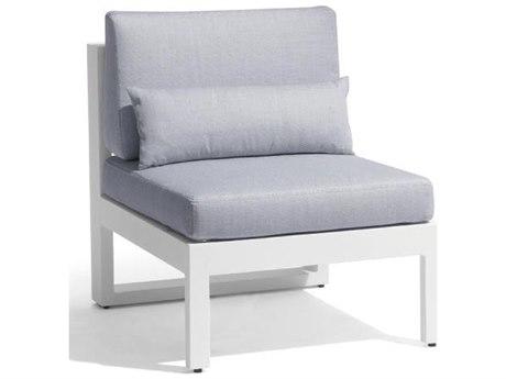 Feruci Aruba Aluminum Armless Chair PatioLiving