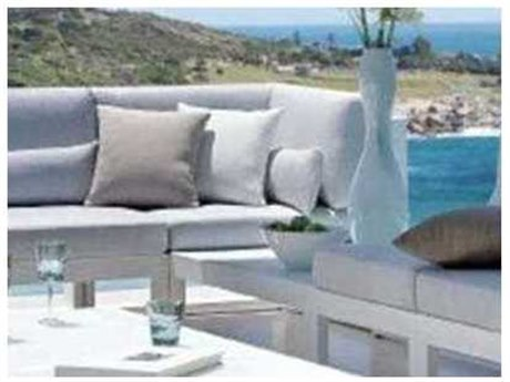 Feruci Aruba Aluminum Corner Chair PatioLiving