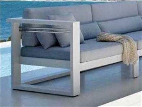 Feruci Aruba Aluminum Left Arm Facing Chair PatioLiving