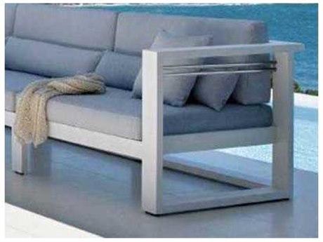 Feruci Aruba Aluminum Right Arm Facing Chair PatioLiving