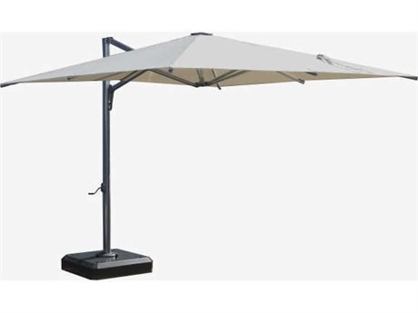 Feruci Nassau Aluminum Commercial 10 x 12 Square Umbrella