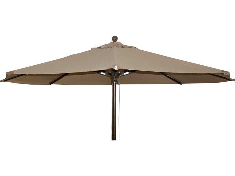 Feruci Wood Market 10 Round Umbrella PatioLiving
