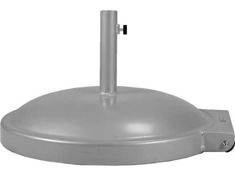 Feruci Aluminum Commercial 24D Round Umbrella Base with Wheels